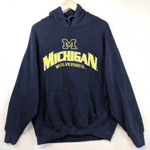Vintage 90's Michigan Wolverines Hoodie